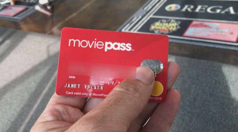 MoviePass, the movie a day app